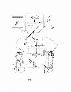 Detailed Engine Wiring Diagram 917 288070 Lawn Mower
