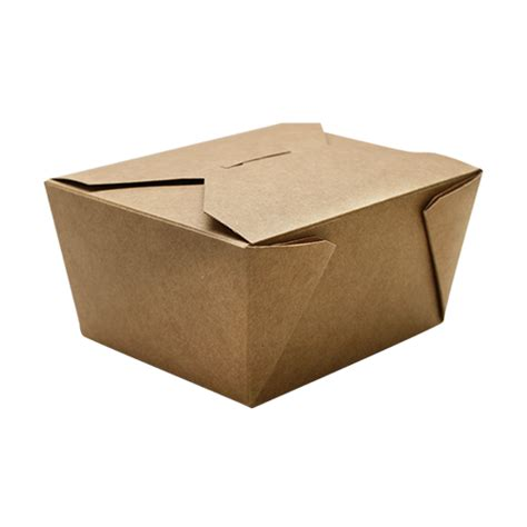 Fold To Go Box #1 (30oz)   Bubble Tea Zone
