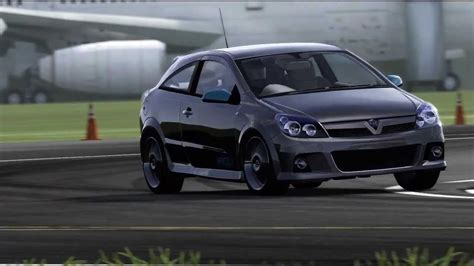 vauxhall astra 2006 forza 4 vauxhall astra vxr 2006 top gear test track youtube