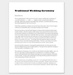 wedding ceremony outline wedding script outline pictures to pin on pinsdaddy