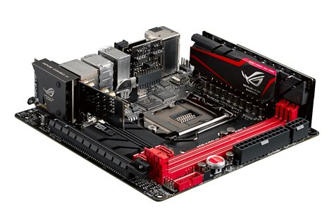 Best Itx Motherboard 2014 Asus Maximus Vii Impact The Most Powerful Mini Itx