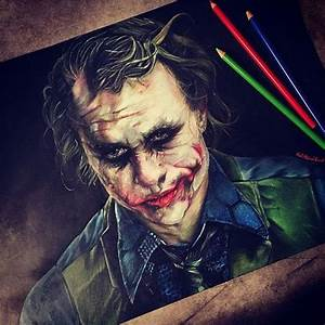 """The Joker! Colored pencil drawing by ..."