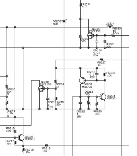 pin solucionado sony ba 5 circuito ik on