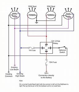 12 Volt Spotlight Wiring Diagram