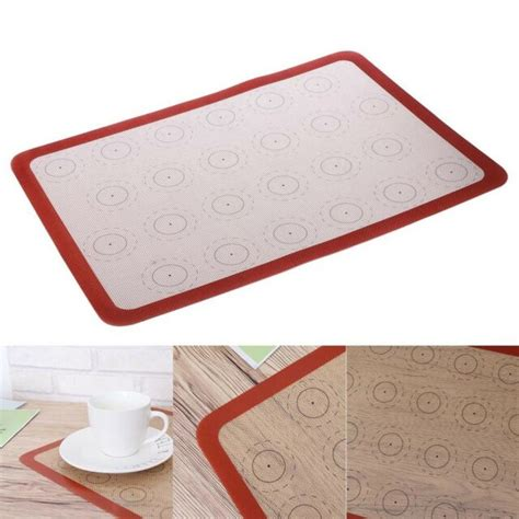 baking temperature sheet macaron resistant silicone stick mat non ended looking