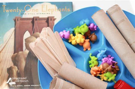 build a bridge for 21 elephants 323   Engineering Science for Kids Build a Bridge for Twenty One Elephants 650x433