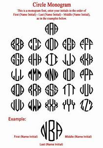 new circle monogramjpg 502x720 pixels decorating With circle monogram maker