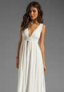 White Maxi Dresses for Women