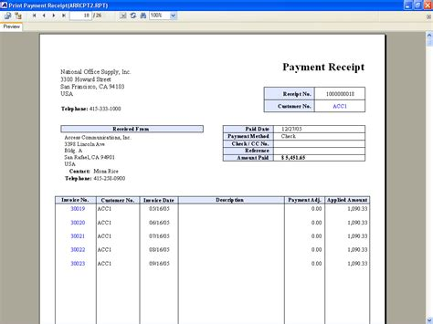 Payment Receipt Template 10 Best Images Of Pay Receipt Payment Receipt