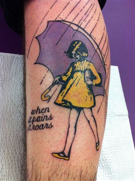 morton salt girl tattoo   pains  roars eric