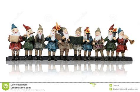 musik elfe am weihnachten stockbild bild von bart