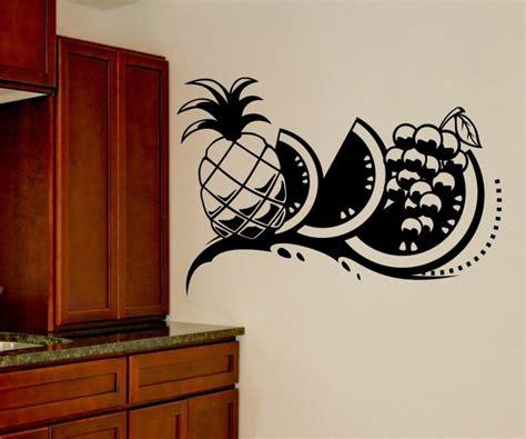 Wandtattoo Küche Obst by Wandtattoo Obst Ananas K 252 Che Wand Sticker Aufkleber