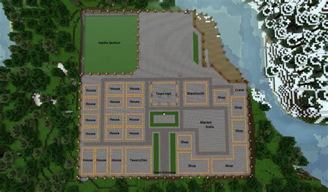 Build Blueprints by Minecraft Medi Minecraft Layout