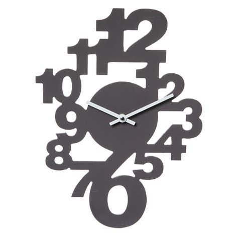 poubelle cuisine 30 l horloge murale chiffres couleur maison futée