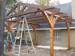 house plans with covered porches pergola construction questions