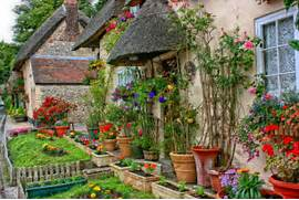 Traditional Home Garden Decor With Flower Garden Style On Pinterest Cottage Gardens Cottage Garden Design