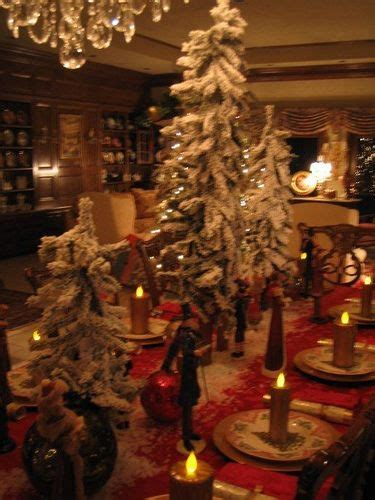charles dickens christmas table holiday magic