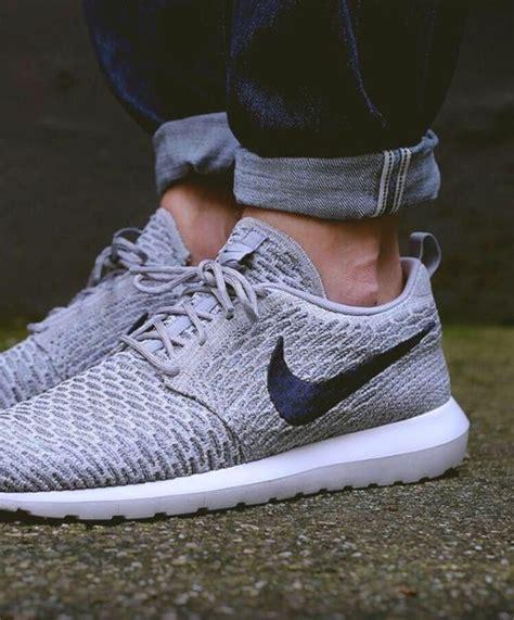 shoes grey running shoes roshe runs nike shoes nike