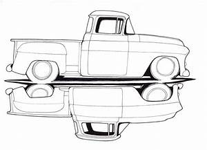 the gallery for gt classic chevy truck drawings With 1949 chevy step van
