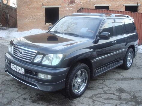 lexus models 2003 2003 lexus lx 470 pictures information and specs auto