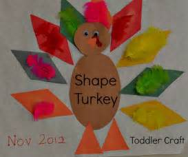 thanksgiving crafts for turkey shapes craft play box