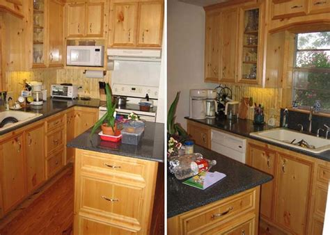 knotty wood kitchen cabinets knotty pine kitchen cabinets spaces traditional with clear 6677