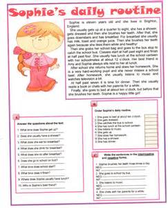 Reading Comprehension Questions and Answers