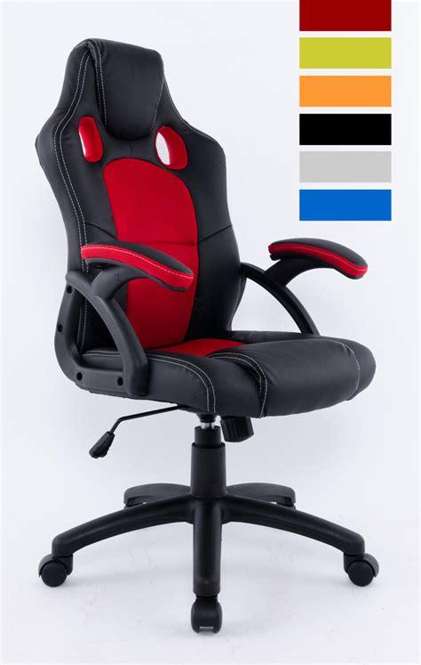 siege de gamer fauteuil de bureau baquet siège de bureau baquet racing