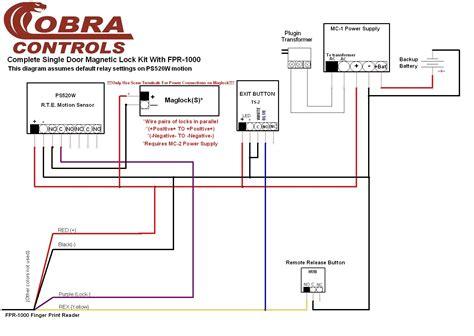 Electric Door Strike Wiring Diagram Free