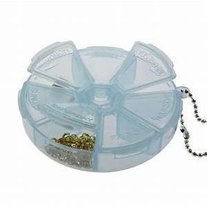 Boite Plastique De Rangement : boite de rangement perles et appr ts ronde 7 compartiments ~ Dailycaller-alerts.com Idées de Décoration
