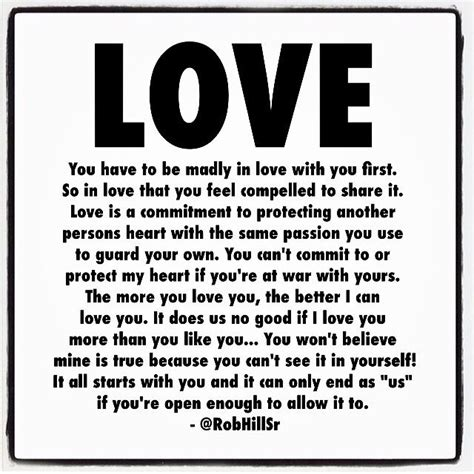 rob hill sr quotes about love
