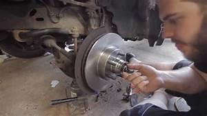 How To Install Brake Rotors  U0026 Wheel Bearings On Ford