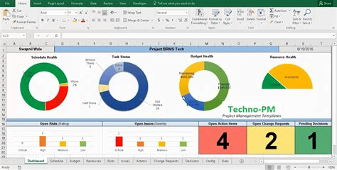 project tracking  master excel project manager