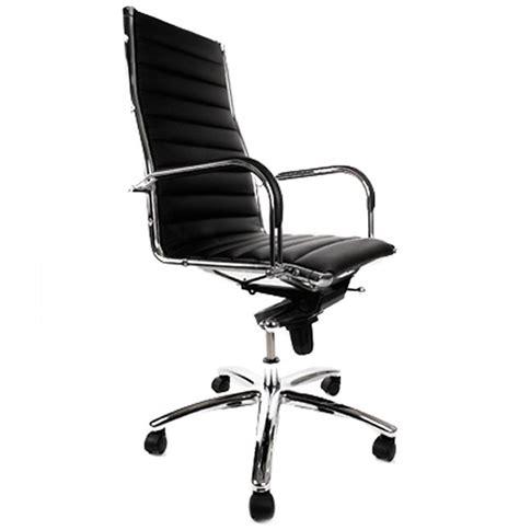 fauteille de bureau fauteuil de bureau design milan noir