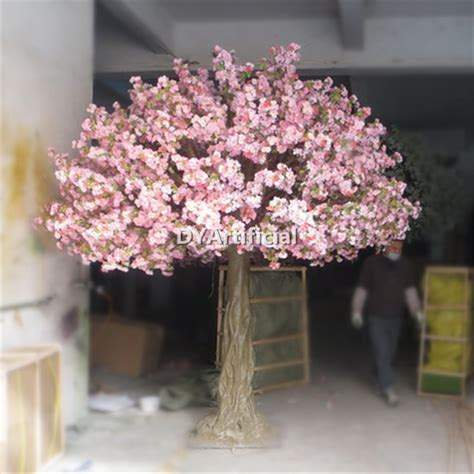 4 5m height pink color artificial cherry blossom trees