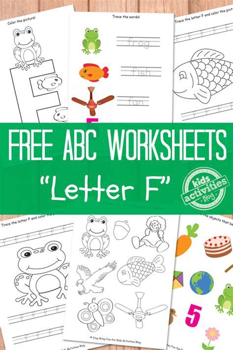free letter f worksheets free homeschool deals 646   Capture52