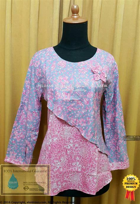 gambar khimar baju batik tunik pastel colors best seller supplier