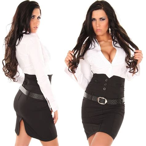 vetement femme stylé jupe longue v 234 tement femme fashion avec ceinture couleur noir