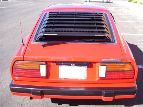 280zx datsun 1983 clean rear
