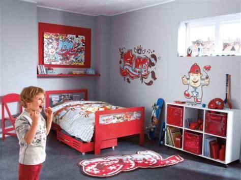 chambre garcon gris modele chambre gris et