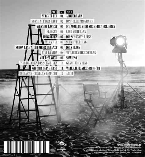 tracklistings des neuen albums helene fischer helene