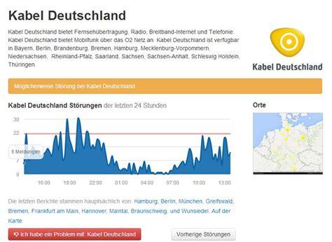 heute kabel deutschland stoerung bei tv internet und