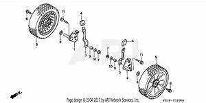 Honda Hrm215k4 Sda Lawn Mower  Usa  Vin  Mzbb