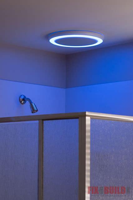 install  bathroom fan  bluetooth speakers