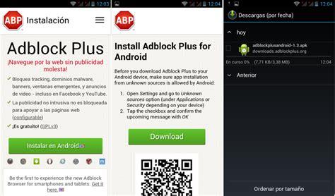 adblock plus android c 243 mo instalar configurar y usar adblock plus en android