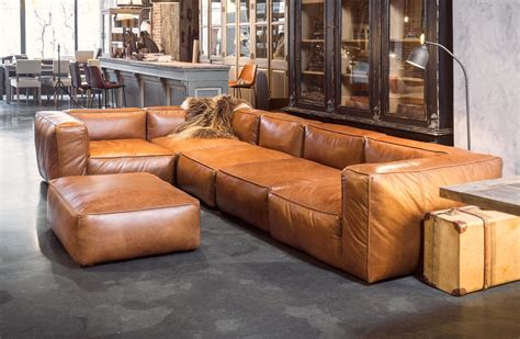 canapé cuir natuzzi cognac leather sofas are now on trend for 2018 homes