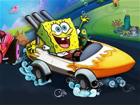 Car Boat Games by Spongebob Racing Boat Puzzle Car Games Online