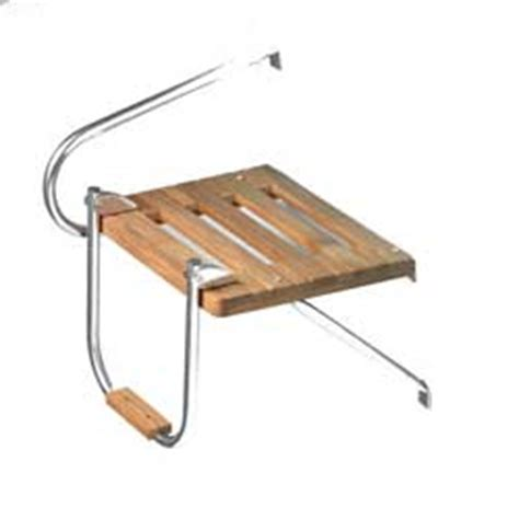 Boat Swim Platform With Ladder For Sale by Whitecap Teak Swim Platform With Ladder Outboard West