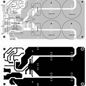 Power Supply Pcb Design For 600w Mosfet Power Amplifier