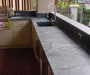 Plan De Travail Gris Anthracite : plan de travail en pierre le granit le quartz le ~ Dailycaller-alerts.com Idées de Décoration